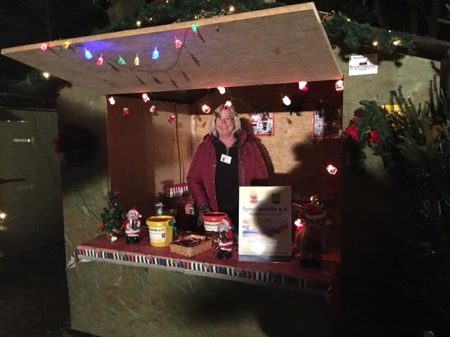 Gruß vom Weihnachtsmarkt in Aschendorf - Danke: Andrea Tammen und ihrem Team
